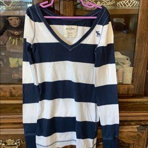 Striped long sleeve tee